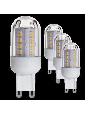 10069 LED-лампа LM-G9-SMD-LED 2,5W 3000K набір з 4х штук EGLO