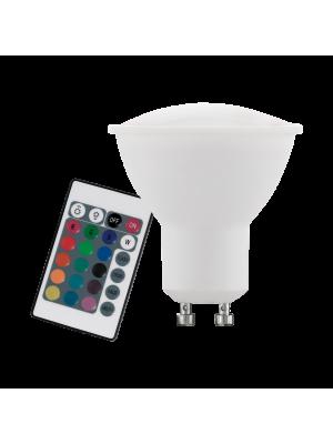 10686 LED-лампа LM-GU10 RGBW 4W EGLO