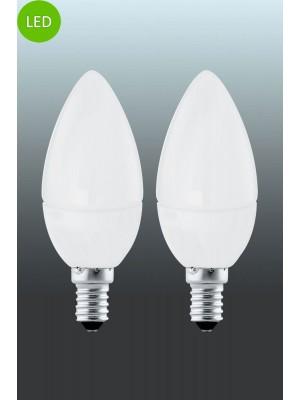 10792 LED-лампа LM-E14-LED KERZE 4W 3000K 2 STK EGLO