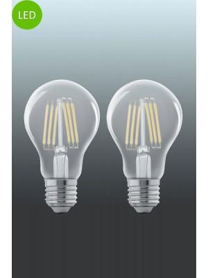 11509 LED-лампа LM-E27-LED A60 6W 2700K 2 STK EGLO