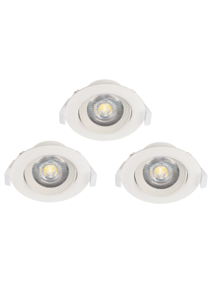 Наш інтернет-магазин світла TopSvet.com.ua пропонує Вашій увазі і рекомендує до покупки точкові поворотні врізні світильники австрійського виробника EGLO SARTIANO GU10 LED 5W.