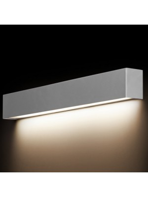 6355 Straight Wall Silver S Nowodvorski