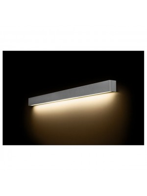 6357 Straight Wall Silver L Nowodvorski