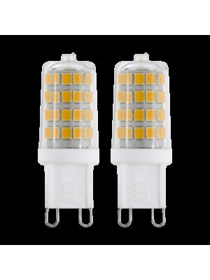 69246 LED-лампа LM-G9-SMD-LED 3W 4000K набор с 2-х штук EGLO